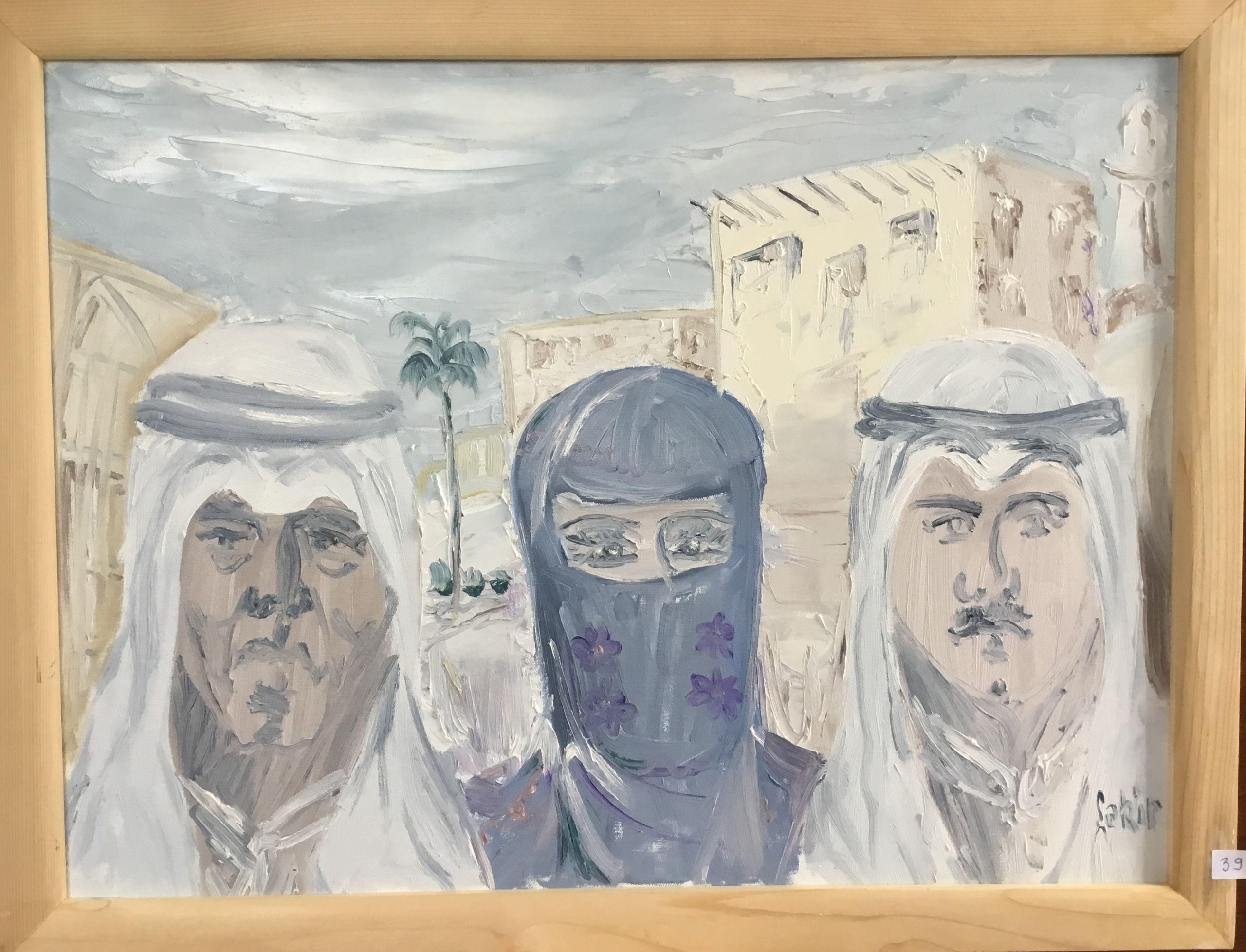 39.Basra Körfezinden, Tuval Üzerine Yağlıboya, 50×65