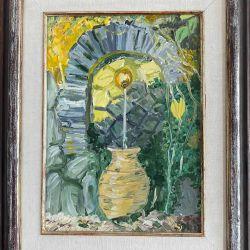 54.Batum'da Bir Çeşme, Tuval Üzerine Yağlıboya, 40×50