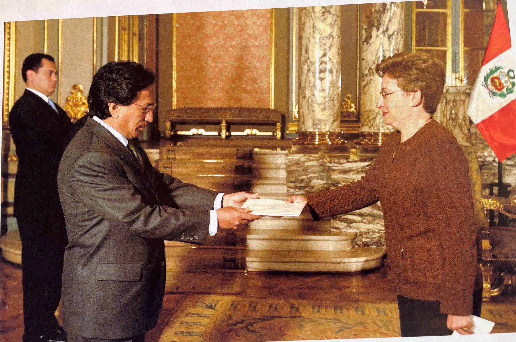 Güven mektubu sunma töreni (10 Ağustos 2003)