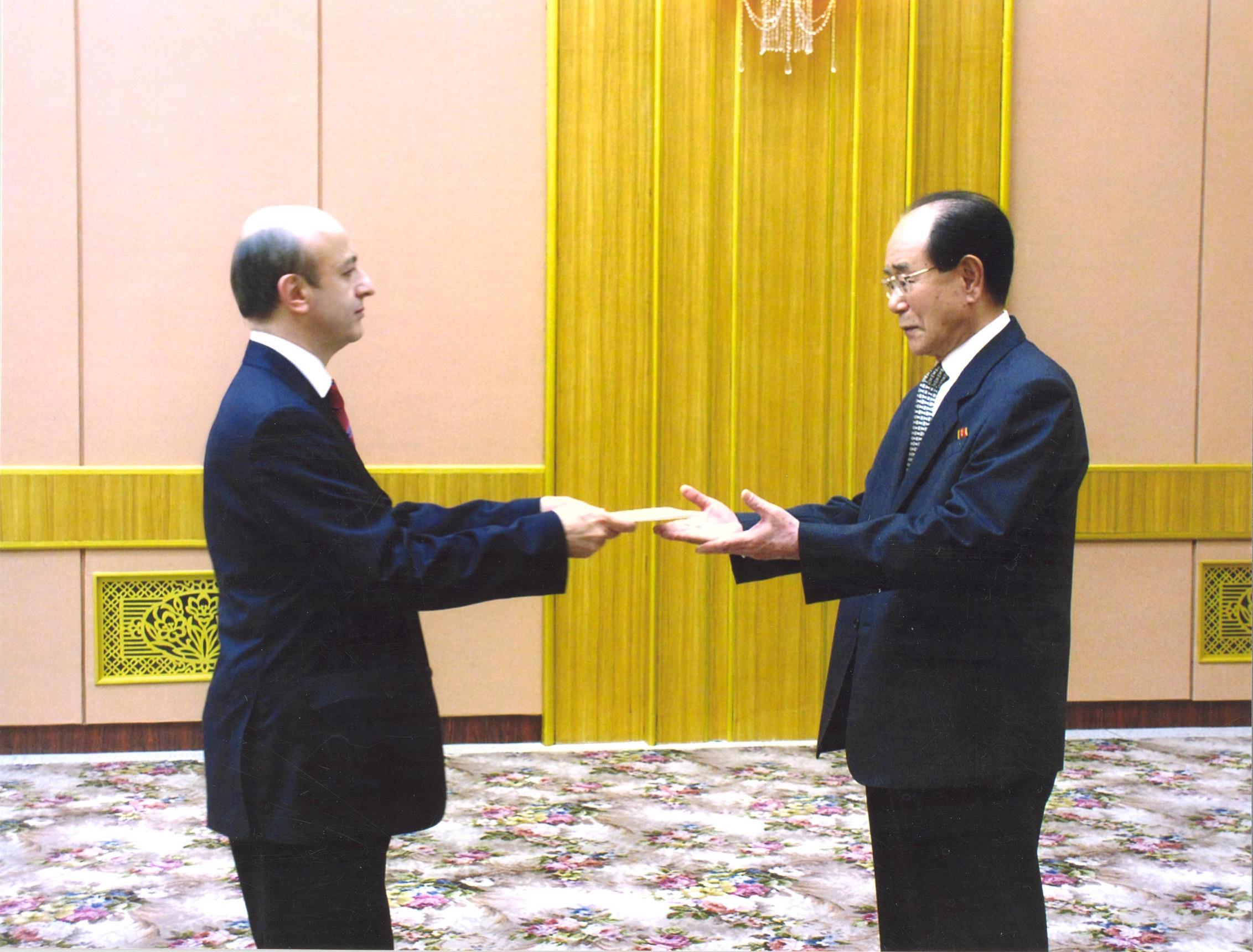 K Kore Prezidyum Bşk Kim Yong-nam 04.05.2010 (1)