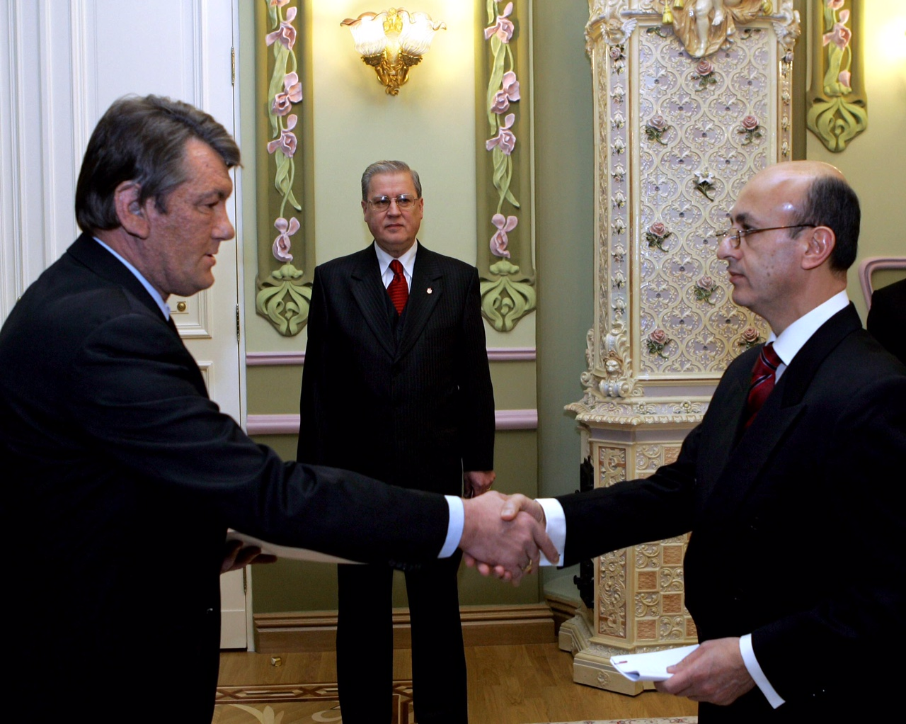 Ukrayna Dev Bşk Yuşçenko 31.01.2006 (1)